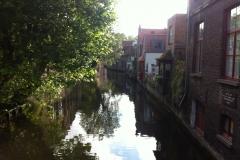 Euro-Diversion 2013 La vuelta a Europa en Moto.ETAPA 7 Brujas-Amsterdam Canales de Brujas
