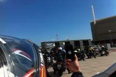 Euro-Diversion 2013 La vuelta a Europa en Moto.ETAPA 9 Hamburgo-Hirtsals-Kristiansand En la cola motera02
