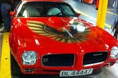 Euro-Diversion 2013 La vuelta a Europa en Moto.ETAPA 9 Hamburgo-Hirtsals-Kristiansand Pontiac Firebird01