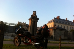 Euro-Diversion 2013 La vuelta a Europa en Moto.ETAPA 5 Burdeos-Versalles. Versalles14