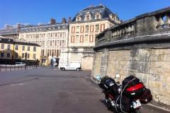 Euro-Diversion 2013 La vuelta a Europa en Moto.ETAPA 6 Versalles-Brujas. En el Palacio de Versalles