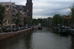 Euro-Diversion 2013 La vuelta a Europa en Moto.ETAPA 7 Brujas-Amsterdam Canales de Amsterdam