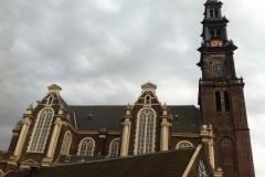 Euro-Diversion 2013 La vuelta a Europa en Moto.ETAPA 7 Brujas-Amsterdam Catedral Amsterdam