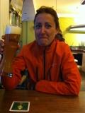 Euro-Diversion 2013 La vuelta a Europa en Moto.ETAPA 8 Amsterdam-Hamburgo Degustando una cerveza01