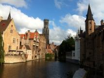 Euro-Diversion 2013 La vuelta a Europa en Moto.ETAPA 7 Brujas-Amsterdam Canales de Brujas11