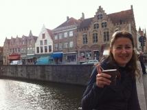 Euro-Diversion 2013 La vuelta a Europa en Moto.ETAPA 7 Brujas-Amsterdam Canales de Brujas19