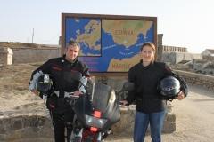 falco_stradale_en_el_punto_mas_al_sur_de_europa